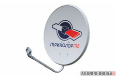 Установка и ремонт спутникового тв, подвес тв Москва
