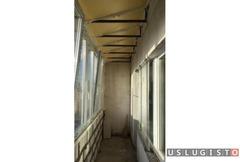 Крыша на балкон и лоджию Москва