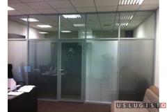 Продам и установлю, офисные перегородки, двери Москва