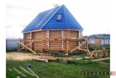 Строительство домов, бань Москва