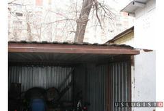 Ремонт ракушек, гаражей, пеналов, тентов - укрытий Москва