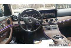 Аренда автомобиля Mercedes E213 с водителем Москва