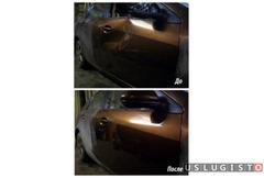 Удаление вмятин без покраски на кузове автомобиля Москва
