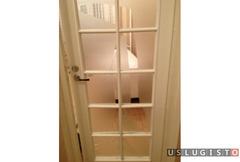 Услуга замена разбитого стекла в двери Москва