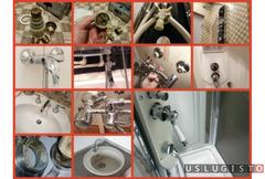Установка и ремонт - замена смесителя сантехник Москва