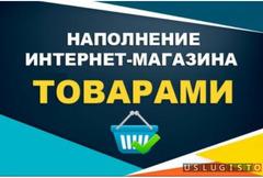 В вашем интернет магазине заполню карточки товара Москва