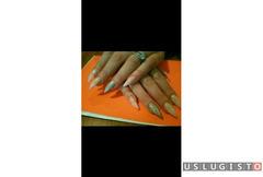 Наращивание ногтей Москва