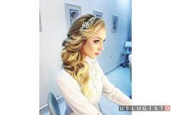 Свадебный стилист, визажист, стилист по прическам Москва