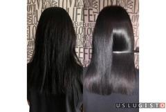 Ботокс для волос Кератиновое выпрямление волос Москва