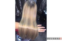 Кератиновое выпрямление. Ботокс волос Москва