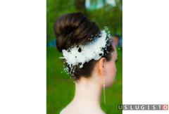 Свадебный, вечерний макияж, причёски Москва