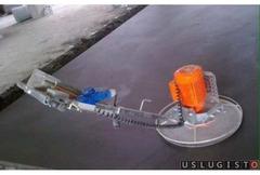 Стяжка полусухая- штукатурка механизированная