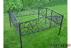 Ограда для могилы. Ручная работа Москва