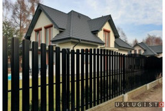 Забор из евроштакетника под ключ Андреевка