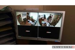 Монтаж систем видеонаблюдения, скуд и охранной сиг Москва