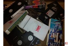 Оцифровка видеокассет VHS, VHS-c, video8, Hi8 Москва