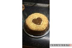 Бисквитный тортик Москва