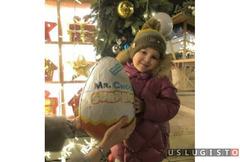 Очень большое шоколадное яйцо Москва