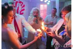 Ведущий-тамада и dj с вокалом на свадьбу, юбилей Москва