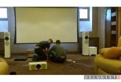 Установка и настройка аудио-видеотехники в т. ч hi Москва