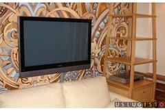 Навеска телевизора на стену Москва
